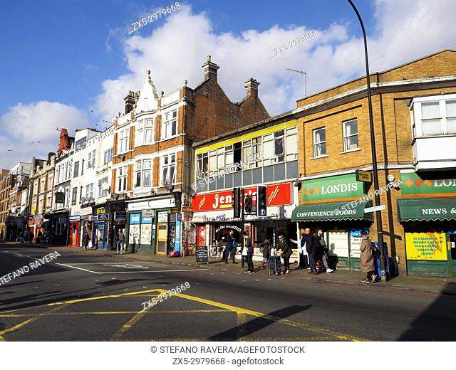 New Cross road - London, England