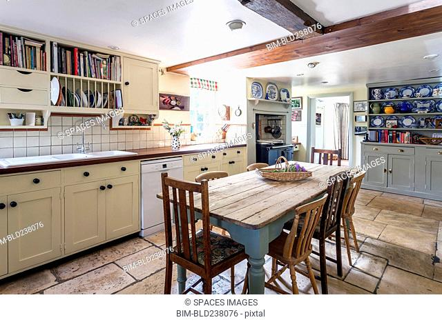 Rustic domestic kitchen