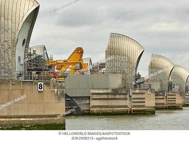 Thames Barrier, Greenwich, London