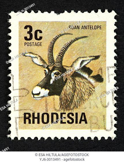 Rhodesian postage stamp