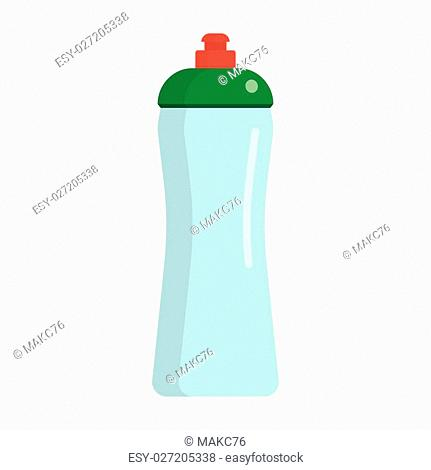 Sports food nutrition icons in flat style on a white background