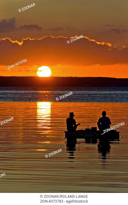 The malecon in Cienfuegos is one the greatest places the island offers. In the evening everybody sits on the wall and watches the sunset