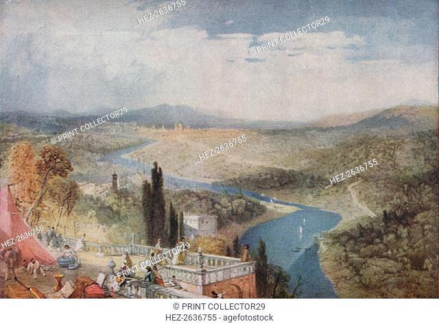 'Florence', 1839, (1918). Artist: James Baker Pyne