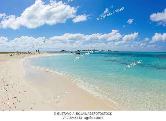 DOS MOSQUICES beach View Archipelago Los Roques Venezuela, Atoll