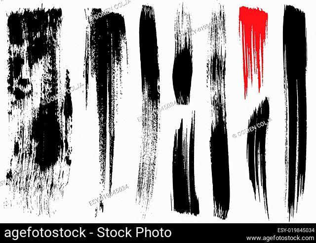 brush stroke textures