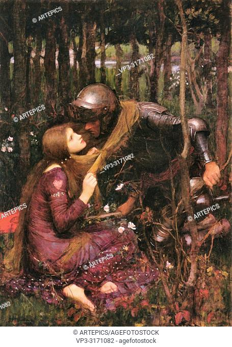 Waterhouse John William - La Belle Dame Sans Merci 2