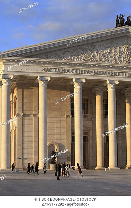 Kazakhstan, Astana, Astana Opera, theatre,