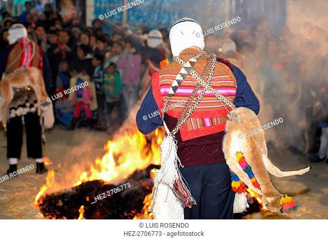 Carmel Feast, Paucartambo, Cusco, Peru, 2015. Creator: Luis Rosendo
