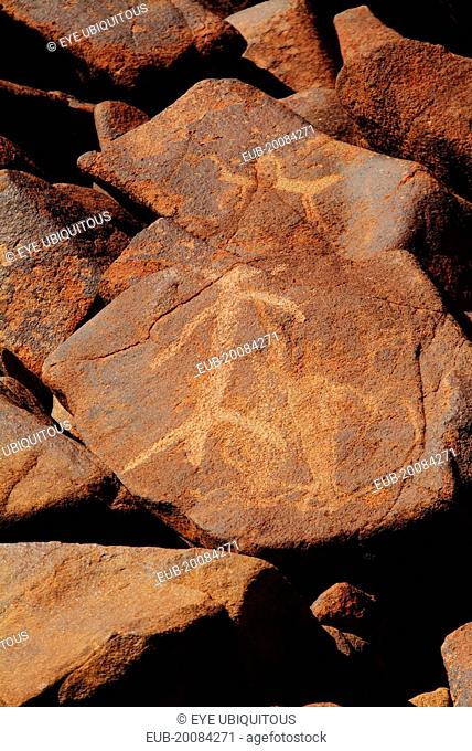 40,000 yo Aboriginal Art that is currently being bulldozed by petrol company