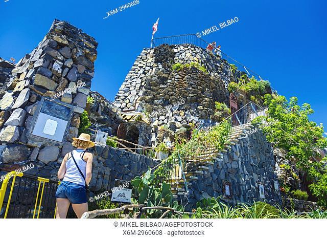 Sao Jose fort. Principality of Pontinha. Funchal. Madeira, Portugal, Europa