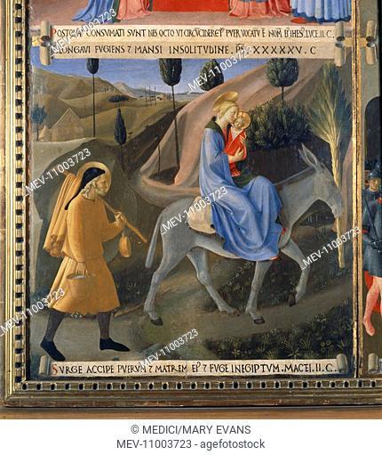 'The Flight Into Egypt'