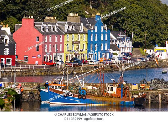 UK, Great Britain, Scotland, Isle of Mull, Tobermory