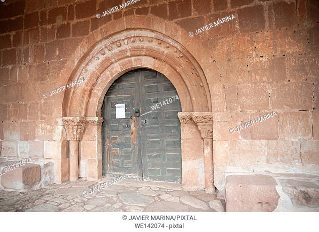 Hermitage of Santa María de Tiermes, Montejo, Soria province, Castilla-Leon, Spain