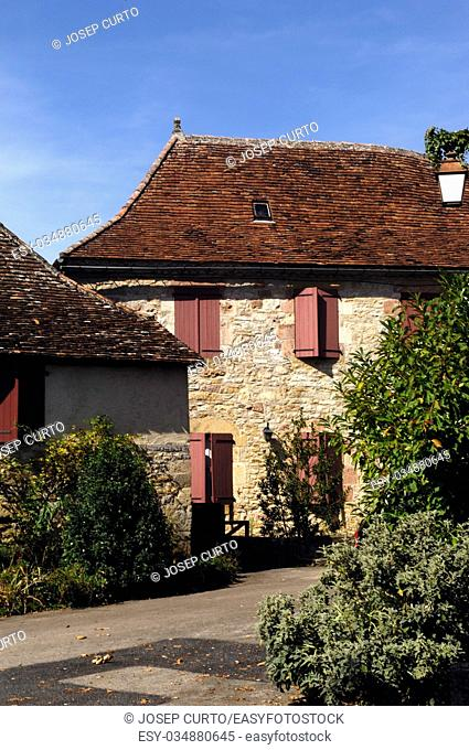 Medieval Village of Loubressac, Lot, France