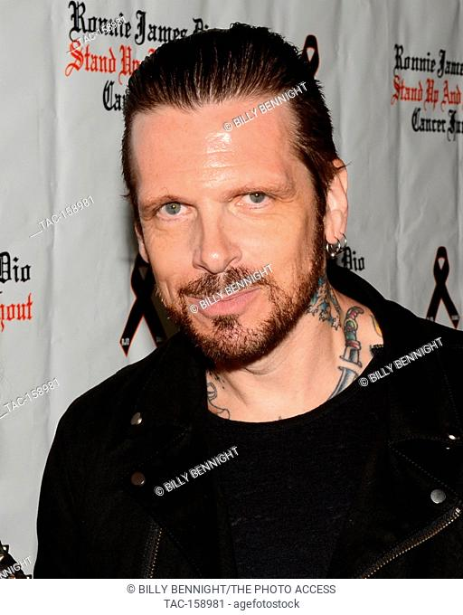 "Ricky Warwick arrives at the 3rd Annual """"Bowl 4 Ronnie"""" Celebrity Bowling Tournament, benefiting the """"Ronnie James Dio Stand Up and Shout Cancer Fund fund""""..."