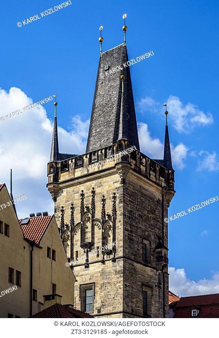 Old Town Bridge Tower, Prague, Bohemia Region, Czech Republic