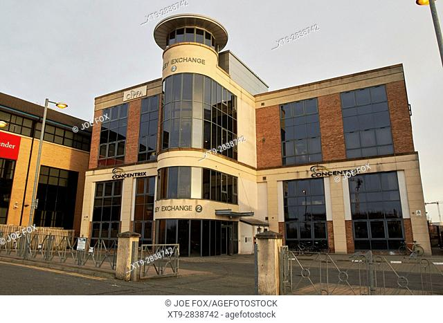 lesley exchange building currently housing concentrix and cipfa Belfast Northern Ireland