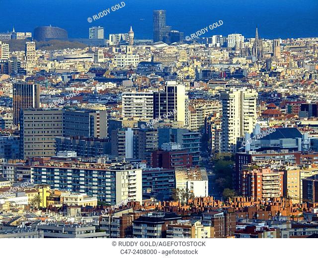 Harbour, Barcelona, Catalonia, Spain