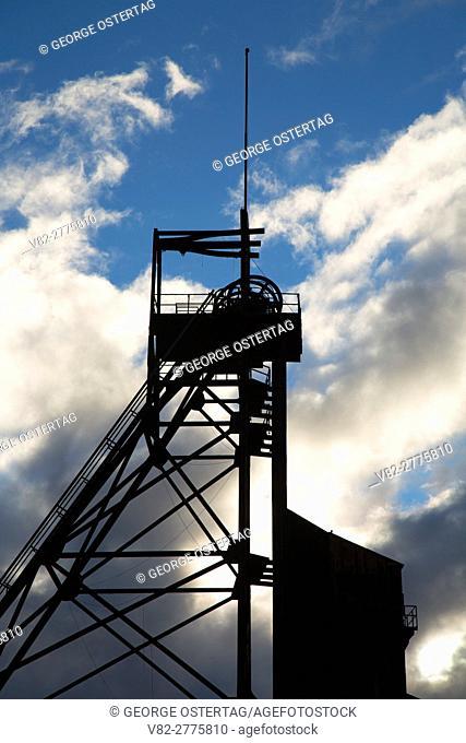 Anselmo Mine Headframe (Gallows), Butte, Montana