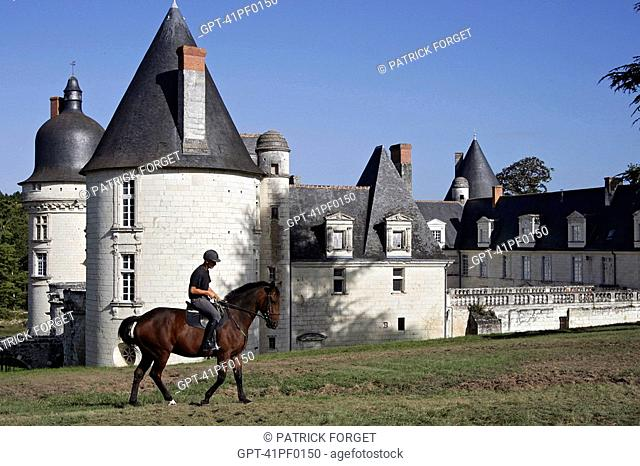 THE GUE-PEAN EQUESTRIAN CENTER, MONTHOU-SUR-CHER, LOIR-ET-CHER 41, FRANCE