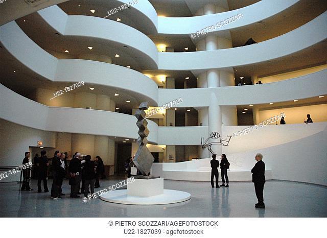 New York City, Guggenheim Museum, Upper East Side, Manhattan
