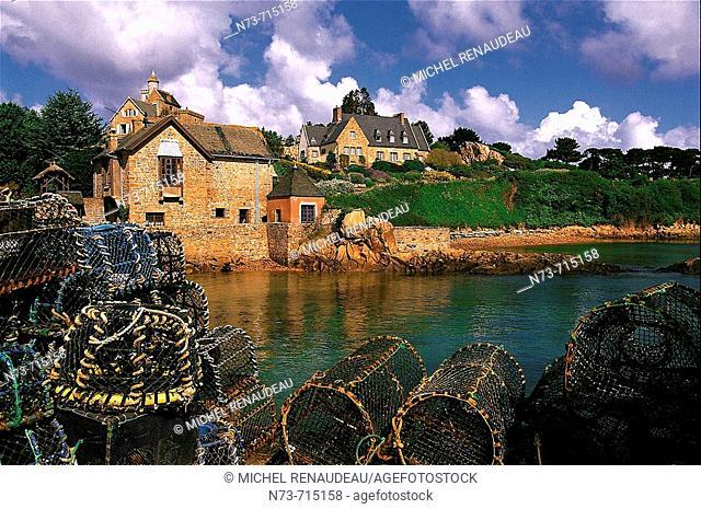 Île-de-Bréhat. Côtes-d'Armor, Bretagne, France