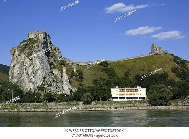 Bratislava, Devin, Slovak Republic, Slovakia, Bratislava, Capital City, Danube, Little Carpathians, Bratislava-Devin, Devin Castle at the confluence of Morava...