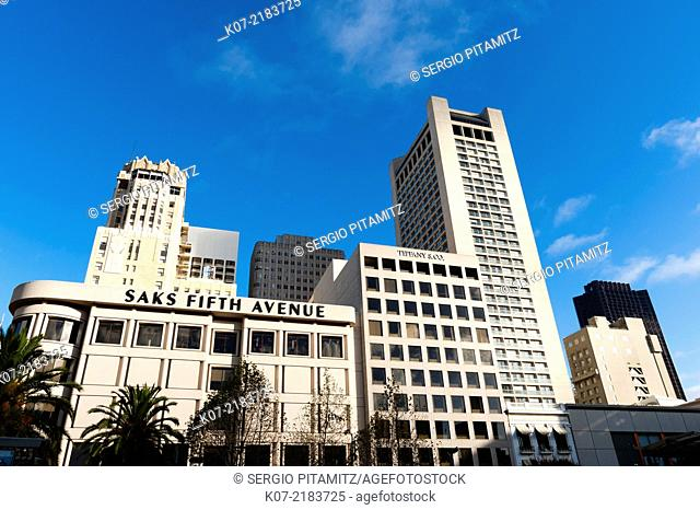 Union square, San Francisco, California, USA