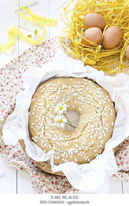 Italian Easter Doughnut