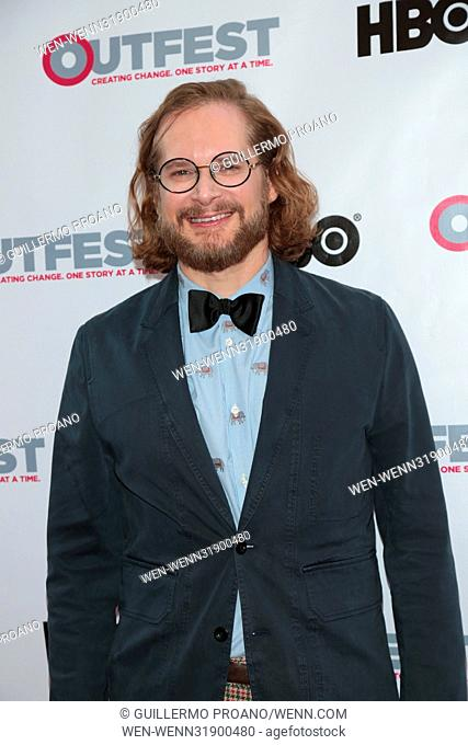 Outfest Los Angeles LGBT Film Festival at the Orpheum Theatre - Photocall Featuring: Bryan Fuller Where: Los Angeles, California