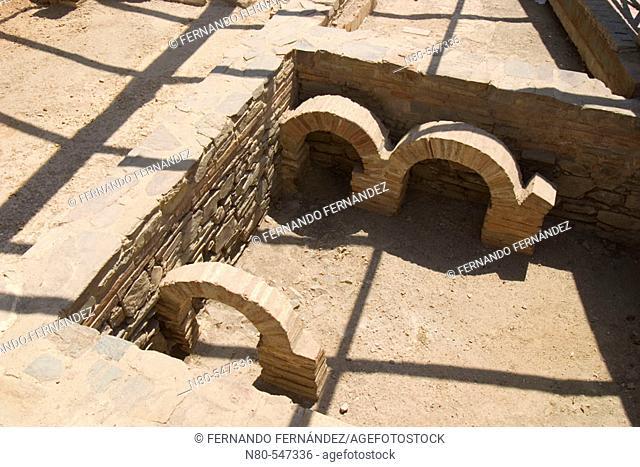 Domus del Mosaico romano del Oso y los Pájaros, Astorga, Camino de Santiago, León province, Castilla y León, Spain