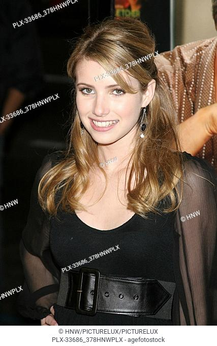 Emma Roberts 02/07/07 MUSIC AND LYRICS @ Grauman's Chinese Theatre, Hollywood photo by Jun Matsuda/HNW / PictureLux February 7