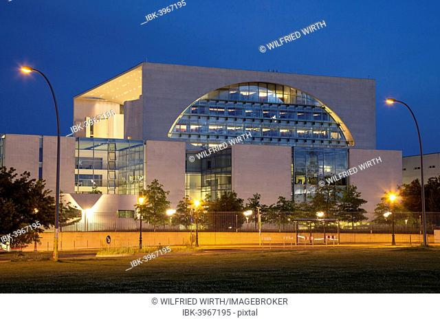 Federal Chancellery, Government District, Berlin, Germany