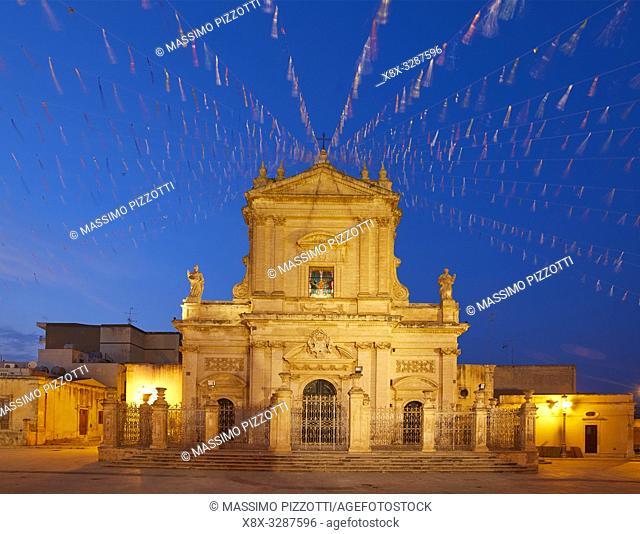 The Basilica di Santa Maria Maggiore in Ispica, Sicily, Italy