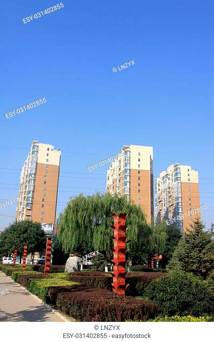 street landscape in a city, north china