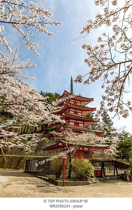 Niikura Asama Shrine, Fujiyoshida, Japan