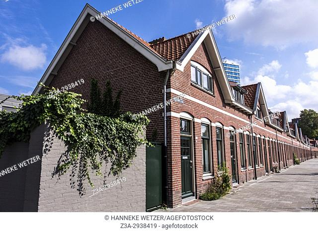 Drents Dorp consists of almost only small, low cost houses, largely built by Philips between 1925 and 1930. All houses have recently been renovated