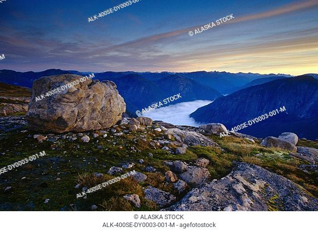 Morning Rudyard Bay Misty Fjords National Monument Southeast Alaska Inside Passage