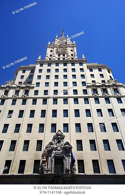 Telefónica Building, Madrid, Spain