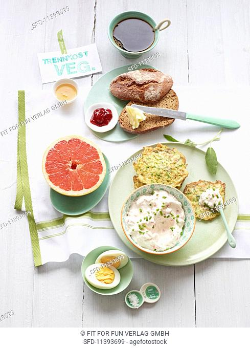 A day's food for the insulin food combining diet