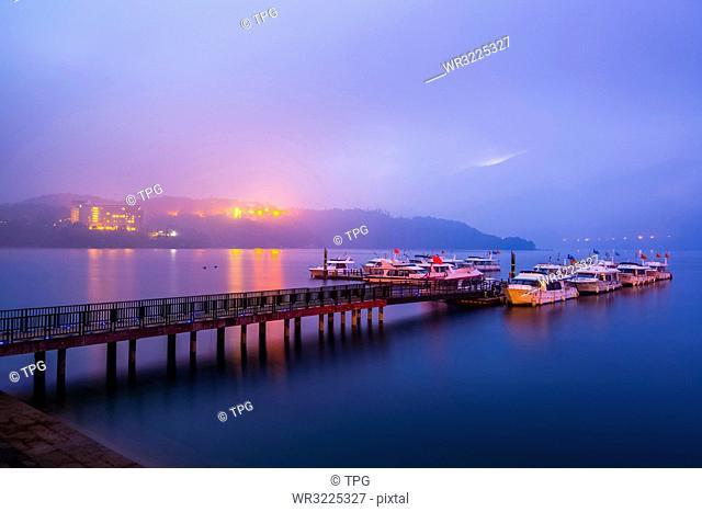 Taiwan;Nantou County;Yuchi Township;Sun Moon Lake;Chaowu Wharf;Sun Moon Lake National Scenic Area