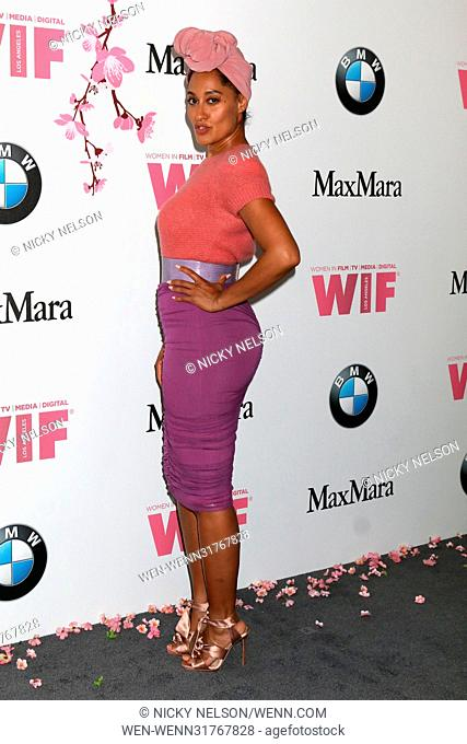 Women in Film celebrates the 2017 Crystal and Lucy Awards at the Beverly Hilton Hotel - Arrivals Featuring: Tracee Ellis Ross Where: Beverly Hills, California