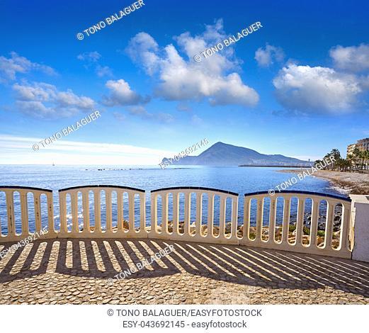 Altea beach Playa La Roda in Alicante of Spain
