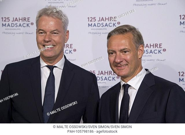 from left: xxxx Thomas DUEFFERT, Dssffert, Management Chairman of the Madsack Media Group, Celebration event on the occasion of the 125th Anniversary of the...