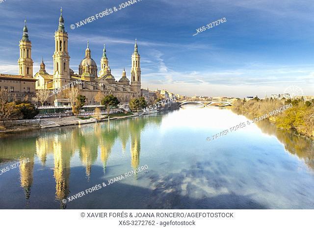 Cathedral - Basilica of Nuestra Señora del Pilar, Zaragoza, Spain