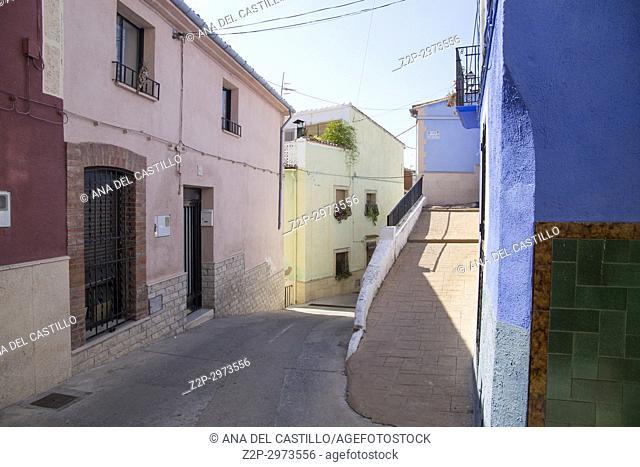 Planes village Alicante province, Spain