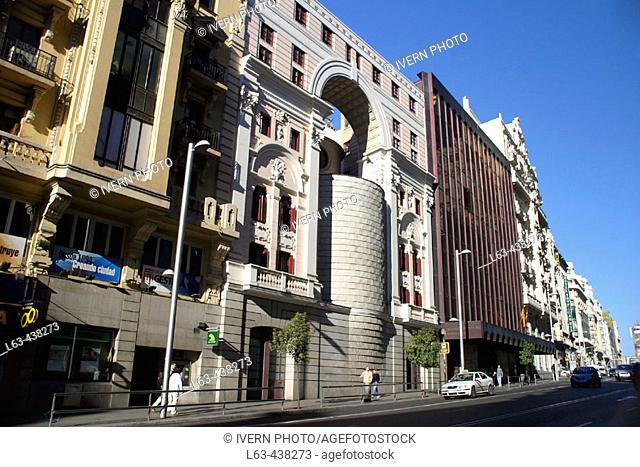 Real Oratorio del Caballero de Gracia. Gran Via. Madrid. Spain