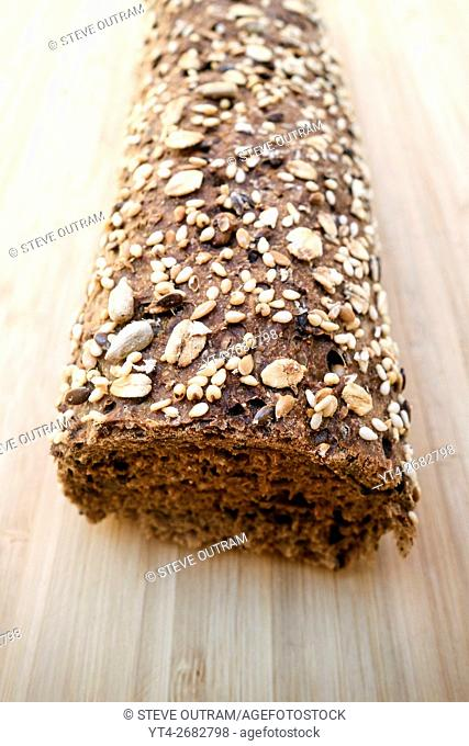 Greek Bread. Whole wheat Baguette