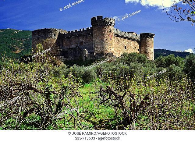 'Duques de Alburquerque' castle. Castilla León. Spain