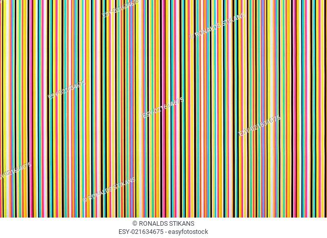 background of multi colored lines in a row